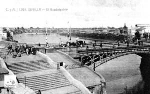FOTO 2 - 1904 - vieja postal editada por Tomás Sanz en 1904