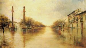 Manuel García Rodríguez- Inundación de la Alameda de Hércules