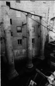 columnas excavacion