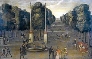 vista de la alameda de hercules - hispanic society - 1647