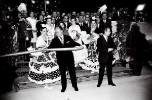 inauguracion feria los remedios 1973