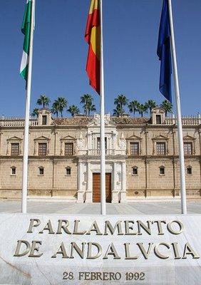 logo parlamento de andalucia