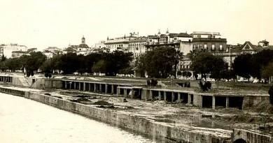 El muelle inacabado. Muelle del Arenal